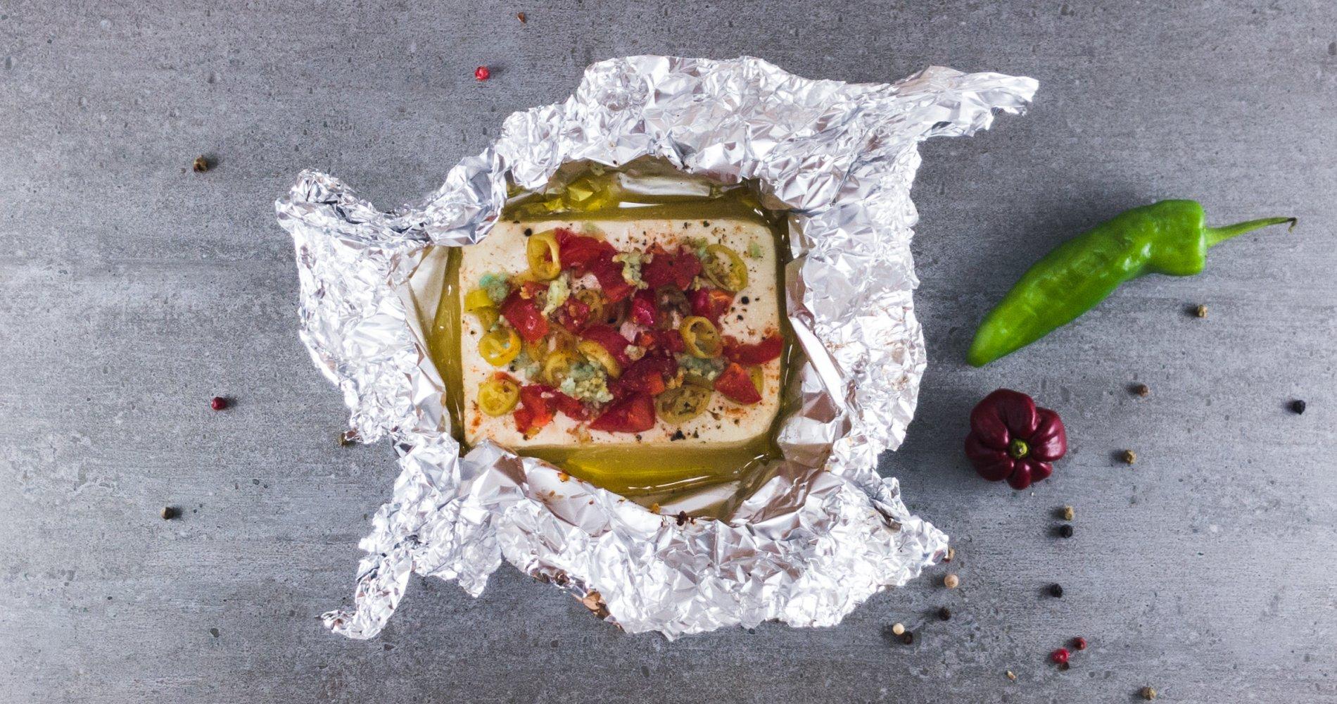 Rezept Low Carb: Gebackener Schafskäse - LCHF-gesund.de