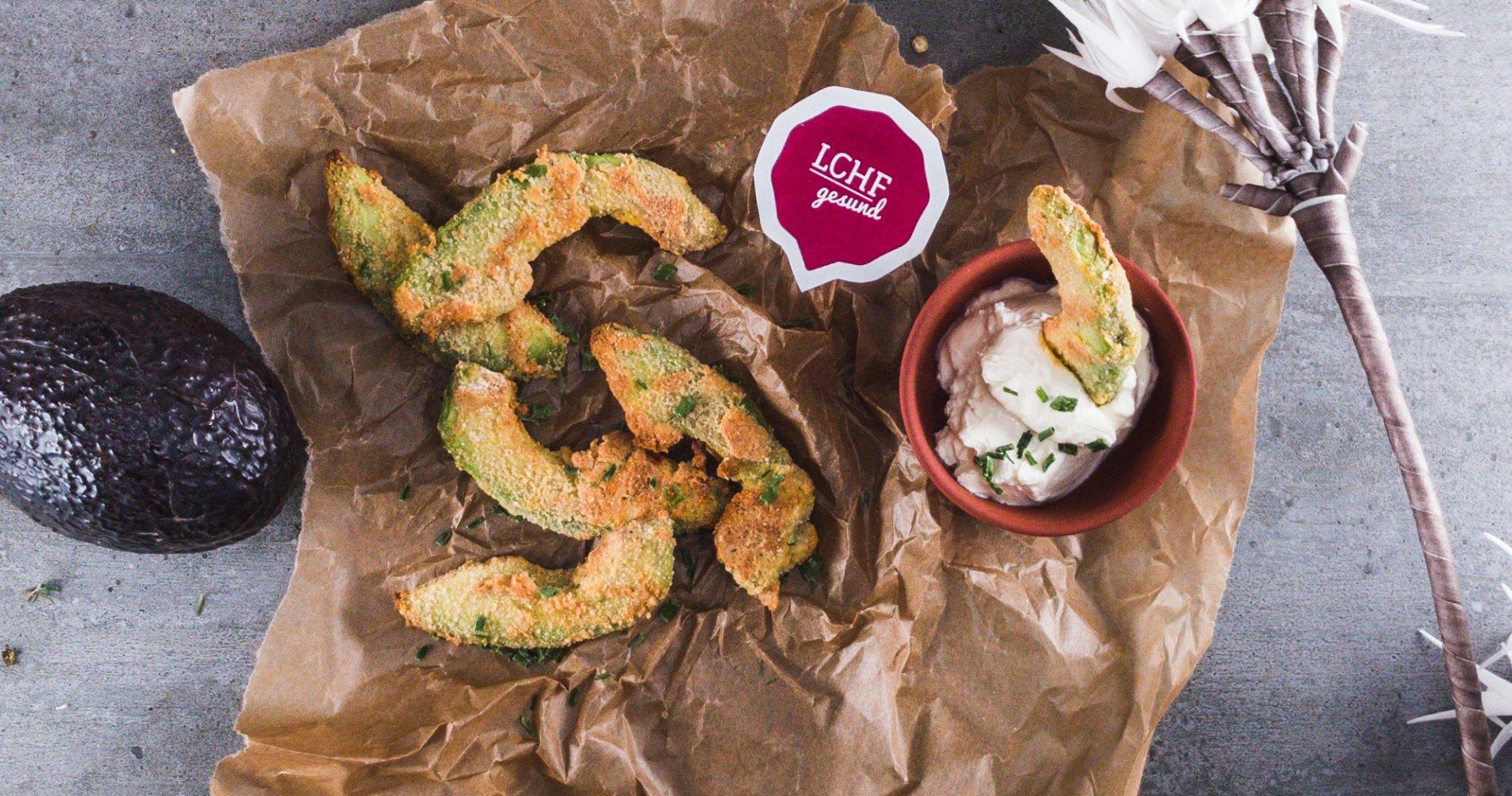 Rezept Low Carb: Avocado-Fries aus dem Ofen - LCHF-gesund.de