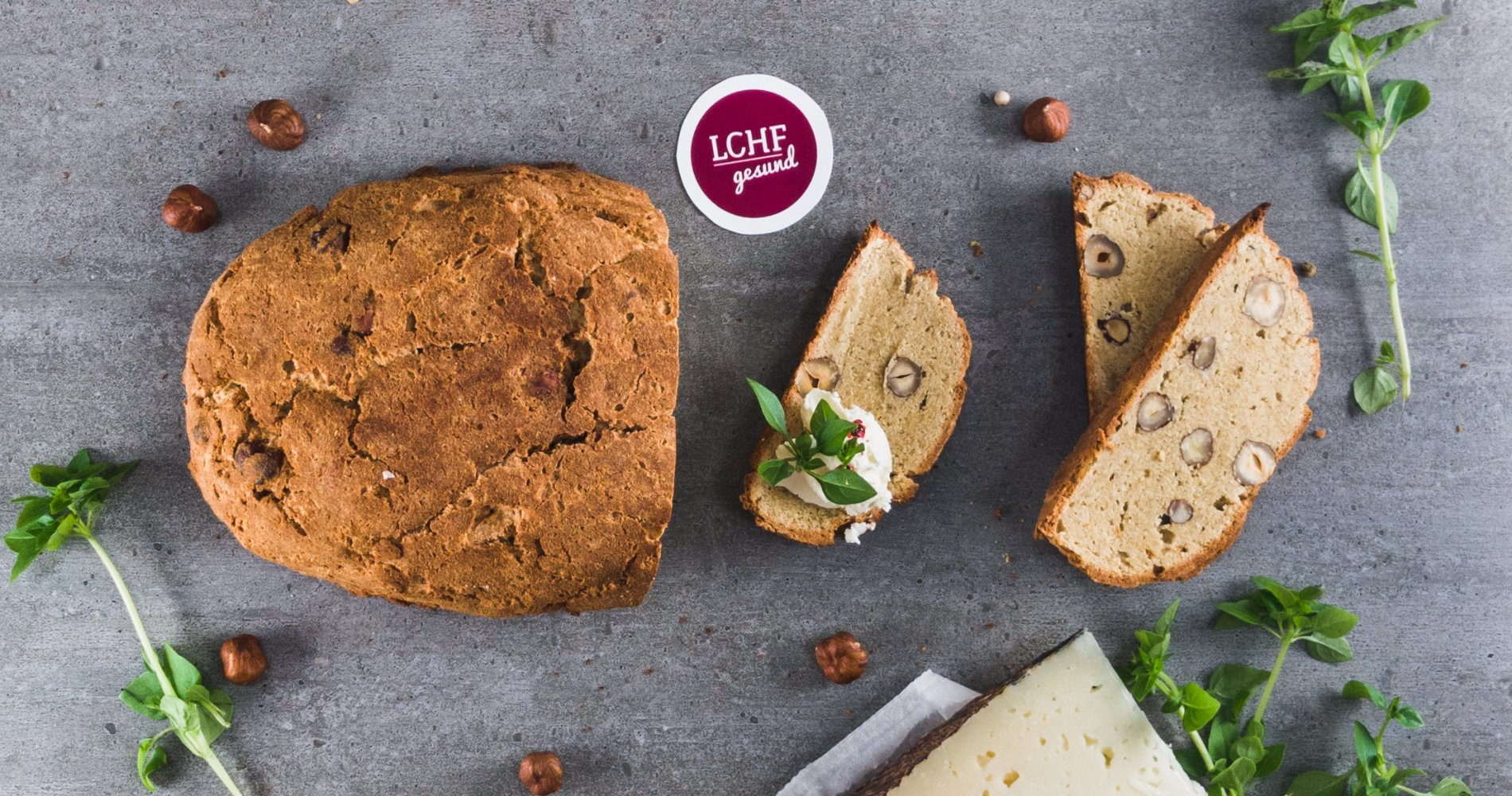 Rezept Low Carb: Mandel-Haselnussbrot - LCHF-gesund.de