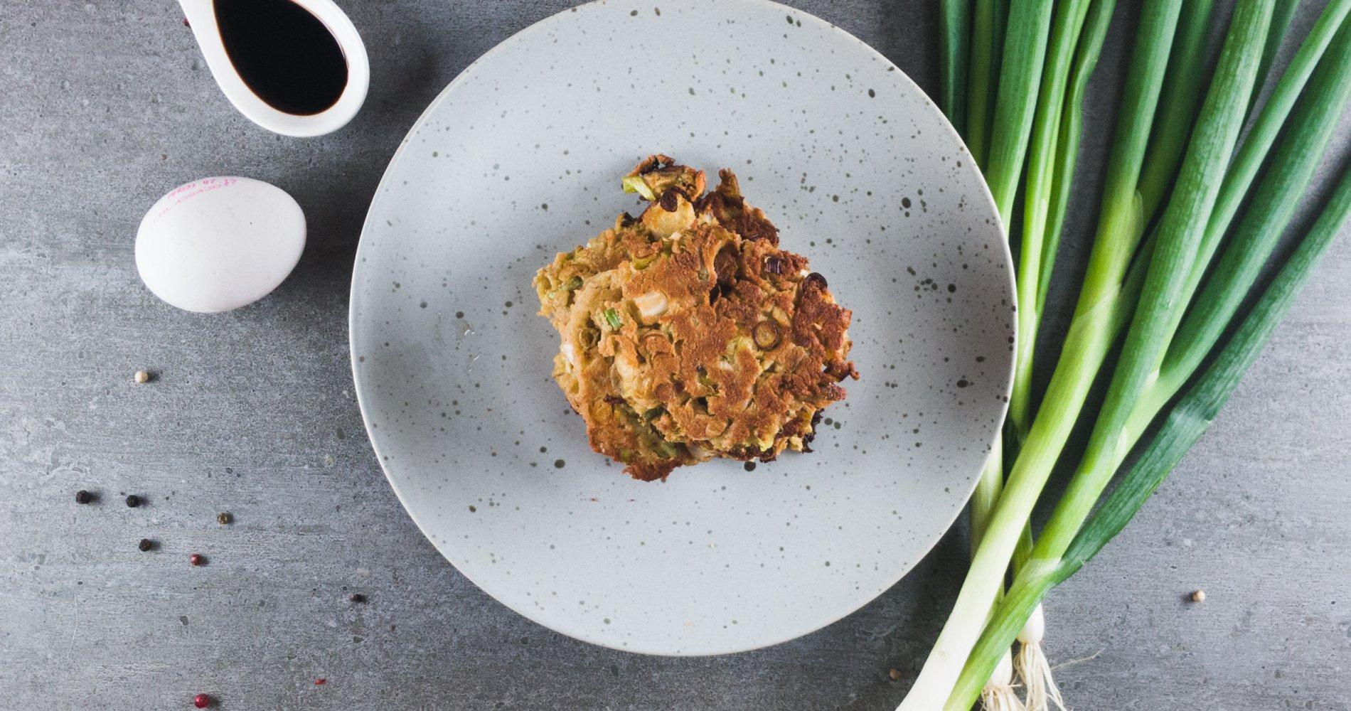 Rezept Low Carb: Lauch-Eierpfannkuchen - LCHF-gesund.de