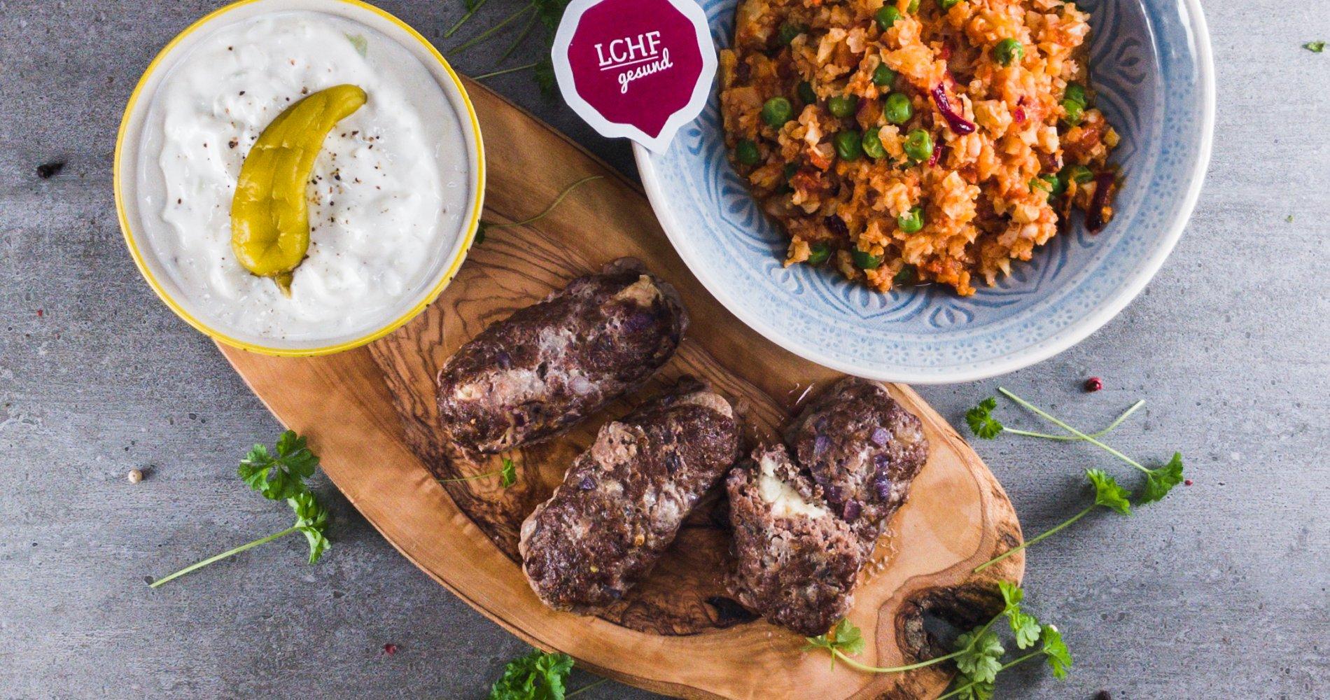 Rezept Low Carb: Griechisches Bifteki - LCHF-gesund.de