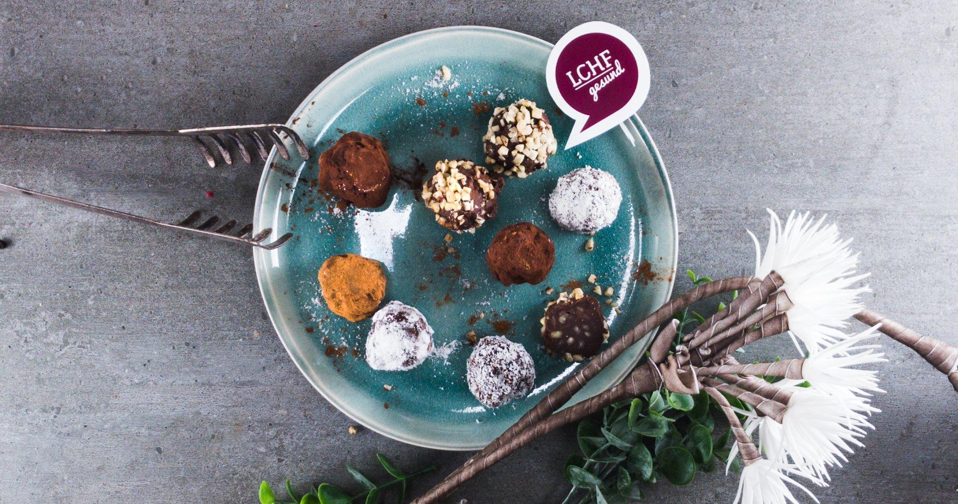 Rezept Low Carb: Schokoladentrüffel - LCHF-gesund.de