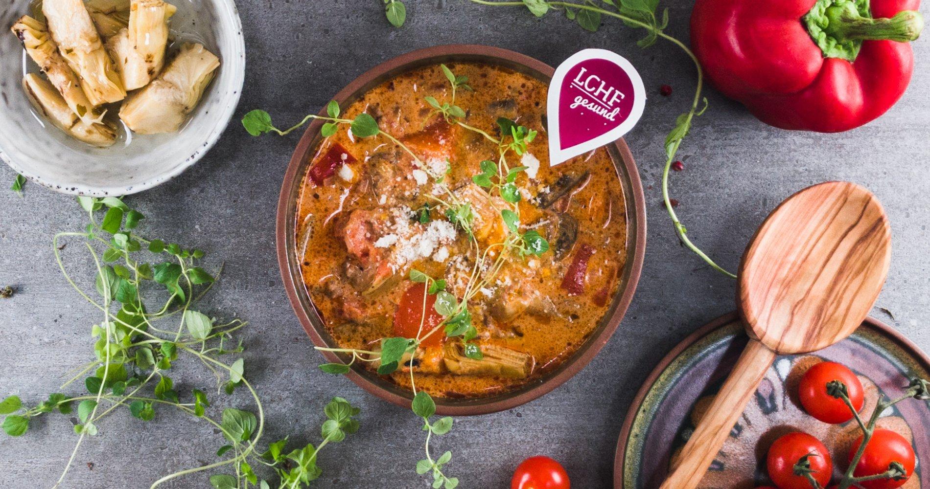 Rezept Low Carb: Bolognese-Eintopf - LCHF-gesund.de
