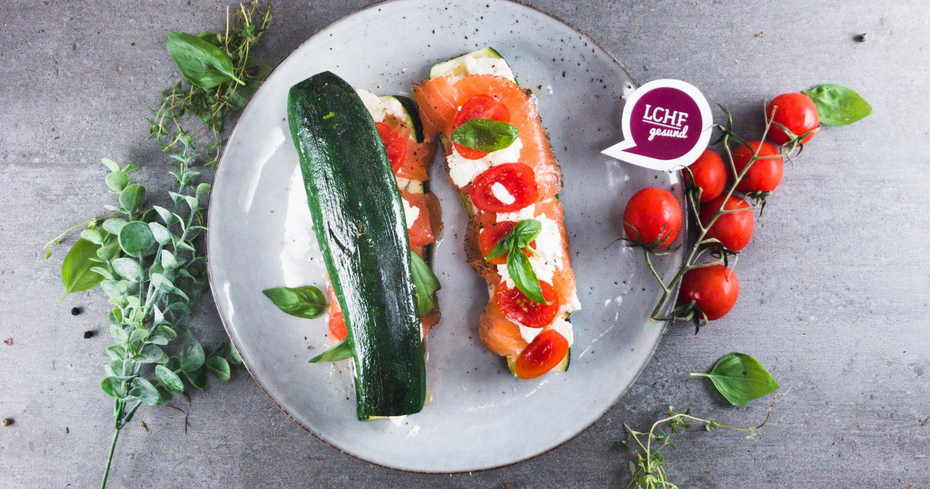 Rezept Low Carb: Zucchini-Sandwich aus der Pfanne - LCHF-gesund.de