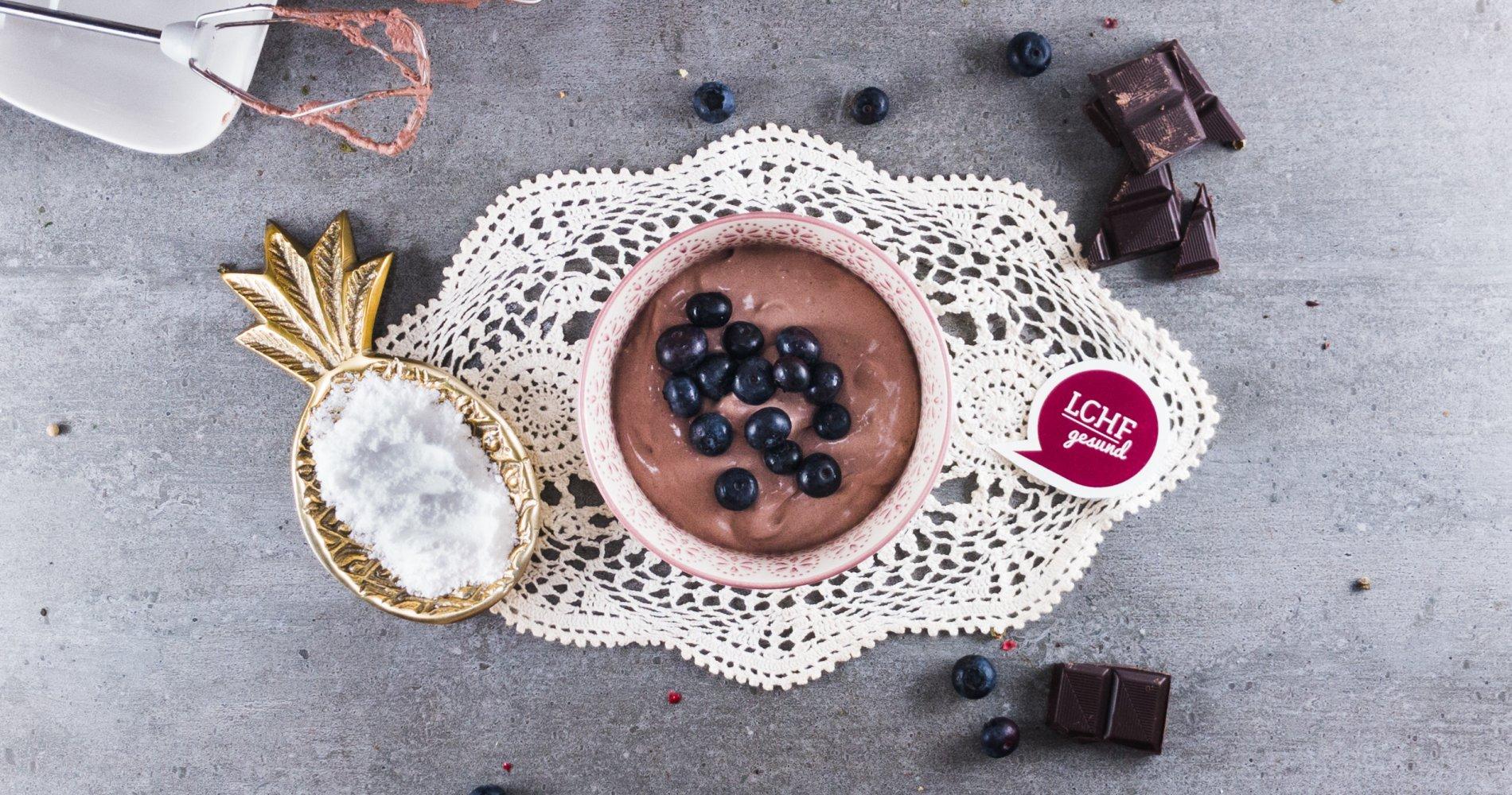 Rezept Low Carb: Schokoladige Kakao-Creme - LCHF-gesund.de